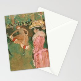 The Dance - Henri de Toulouse-Lautrec (1890) Stationery Cards