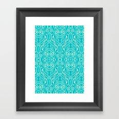 Cut Paper Framed Art Print