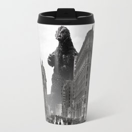 Old Time Godzilla in San Francisco Travel Mug