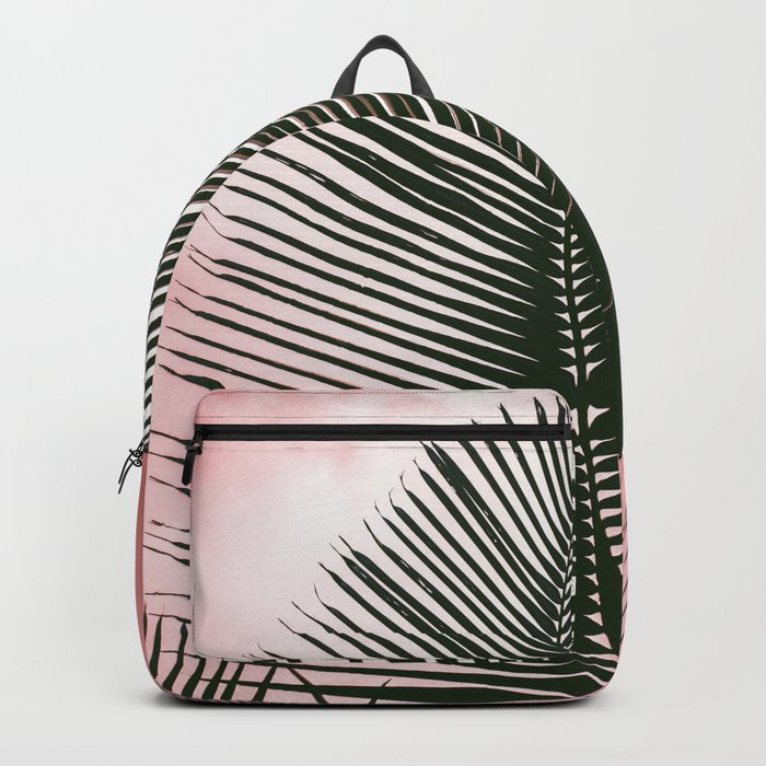 Palms on Pink Backpack