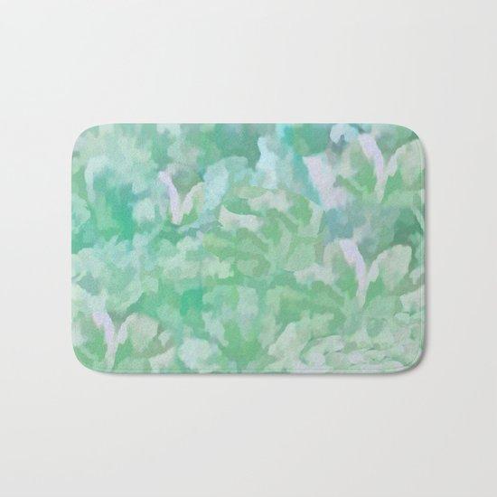 Summer Green Bath Mat