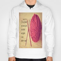scripture Hoodies featuring Psalm 139 Baby Scripture by KimberosePhotography