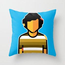 Mike Throw Pillow