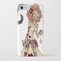 spice iPhone & iPod Cases featuring Spice by Lanrin Heart