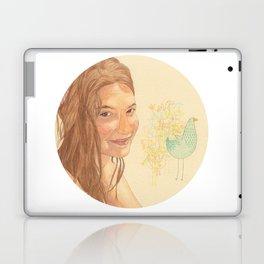 The bird girl Laptop & iPad Skin