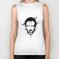 house Biker Tanks featuring House by Durro