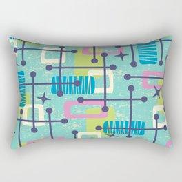 Mid Century Modern Abstract Pattern 835 Rectangular Pillow