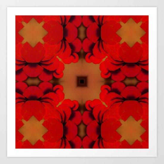 Red Yams Art Print