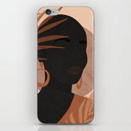 Tropical Girl 27 iPhone Skin