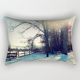Winter's Blanket Rectangular Pillow