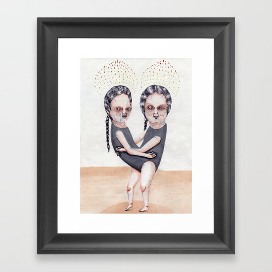 The Load Framed Art Print