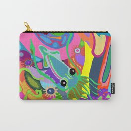 Trippy Squid Carry-All Pouch