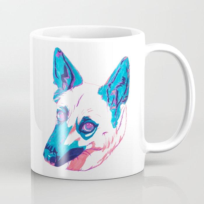 German Shepherd Husky Mix Coffee Mug by raliz