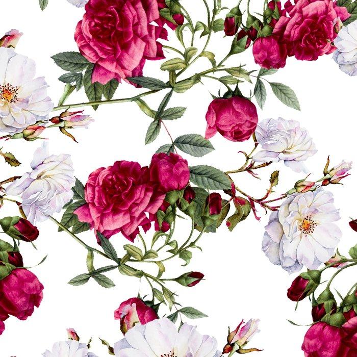 Vintage Roses Leggings