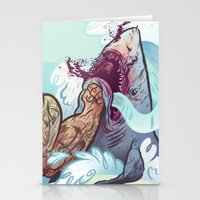 band Stationery Cards featuring The Vaccines (band poster) by Logan  Faerber