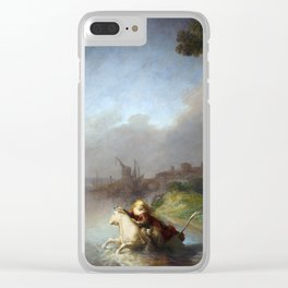 "Rembrandt Harmenszoon van Rijn, ""The Abduction of Europa"", 1632 Clear iPhone Case"