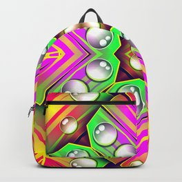 Drops Water On A Colorful Abstract Background SB76 Backpack