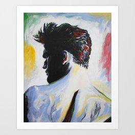 A Single Man Art Print
