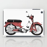 motorbike iPad Cases featuring Motorbike by Ryan Ly