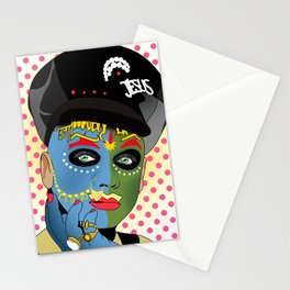 leigh bowery Stationery Cards
