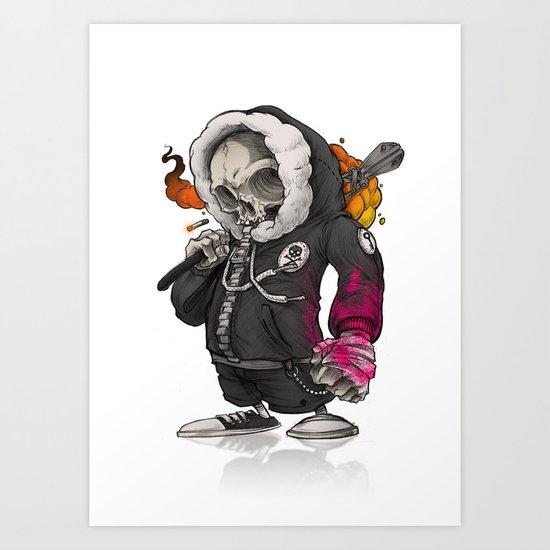 The Trespasser Bo55 Art Print