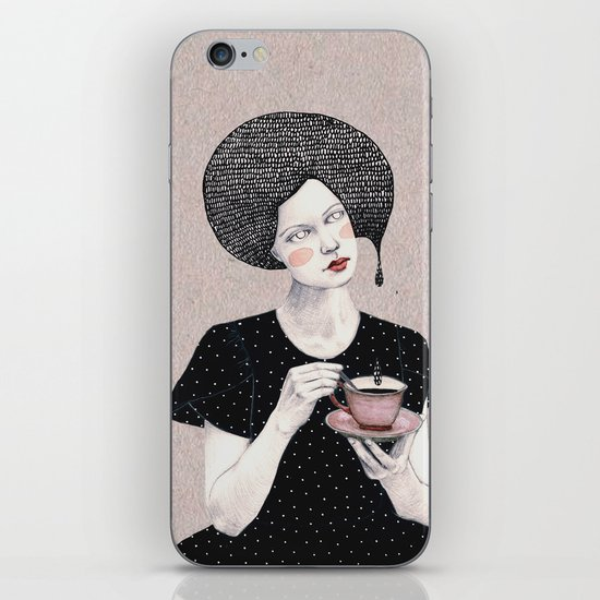 Nina in black iPhone & iPod Skin