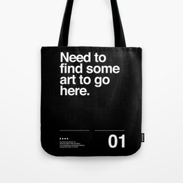Need Art? Tote Bag