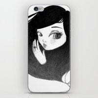 cigarette iPhone & iPod Skins featuring cigarette by Caitlin Roberts