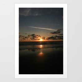 mystic sunset 1 Art Print