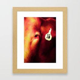 Cow 16 Framed Art Print