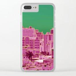 Skyline VI Clear iPhone Case