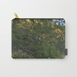 Cardenal in tree Carry-All Pouch