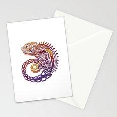 Celtic Chameleon Stationery Cards