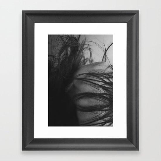 Heart of a Woman Framed Art Print