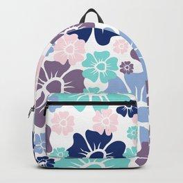 Flowers Purple Backpack