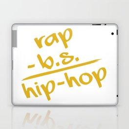 rap - b.s. = hip-hop Laptop & iPad Skin