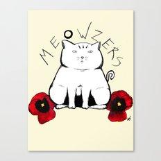 Meowzers Canvas Print