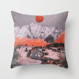 DASH OF PINK Throw Pillow
