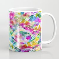 paradise Mugs featuring Paradise by Schatzi Brown