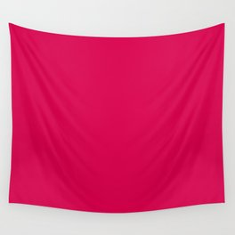 Bright Pink Peacock 2018 Fall Winter Color Trends Wall Tapestry