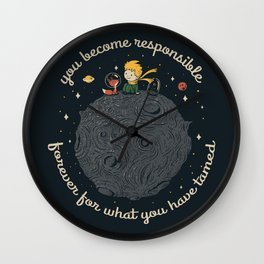 Be Kind To Your Friends Wall Clock