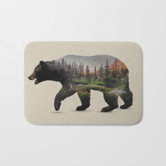 The North American Black Bear Bath Mat
