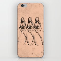Raquel Welch in Triplicate iPhone & iPod Skin