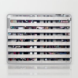 Immeuble face Laptop & iPad Skin