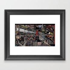 Down Into Nothing (Still Frame 1) Framed Art Print