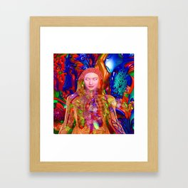 Organic Body Framed Art Print