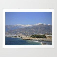 Crete, Greece 8 Art Print