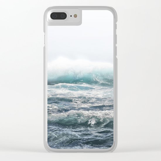 BIG SPLASH HAWAII Clear iPhone Case