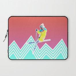 Dude skis like it's 1989 Laptop Sleeve