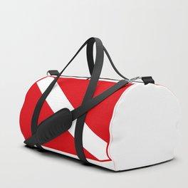 Diving flag Duffle Bag